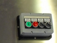 Wireless push-button panel